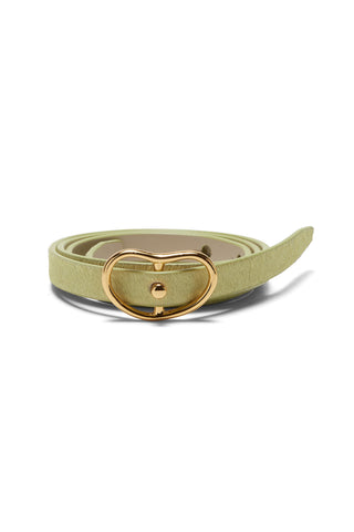 Skinny Georgia Belt In Pistachio
