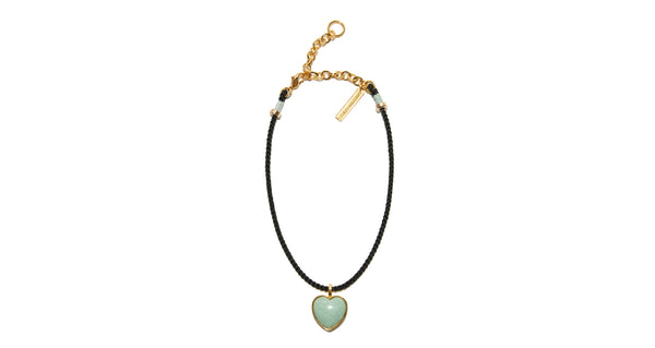 Best Friend Necklace in Green Aventurine