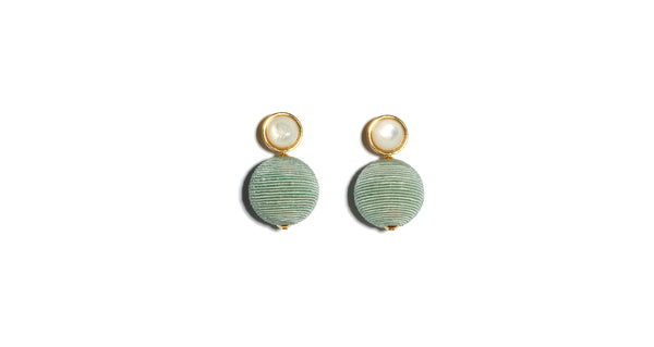 Light Aqua Mara Earrings