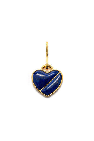 Heart Pendant in Midnight Lover