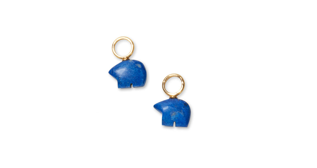 Full view of Grin And Bear It charms. The Mood Hoops: mix, match, and layer charms for an en...