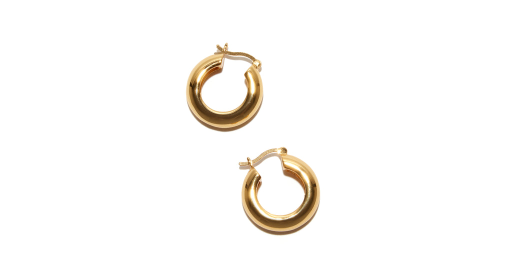 Gold Mood Hoops