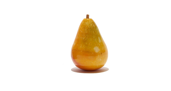 Alabaster Marble Pear