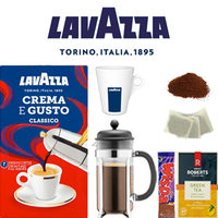 Work @ Home & Student Package: Crema é Gusto Cafetiére