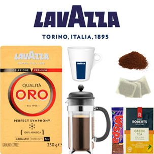 Work @ Home & Student Package: Qualita Oro Cafetiére