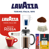 Work @ Home & Student Package: Qualita Rossa Cafetiére