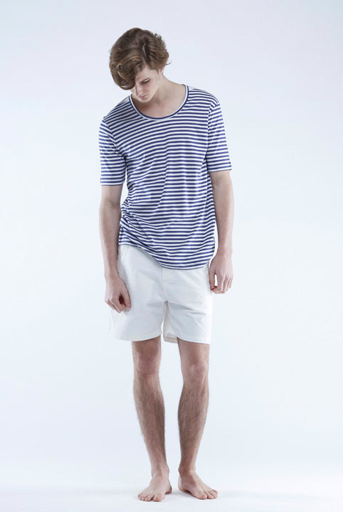 The White Briefs short-sleeved t-shirt with relaxed fit in 100% organic pima cotton