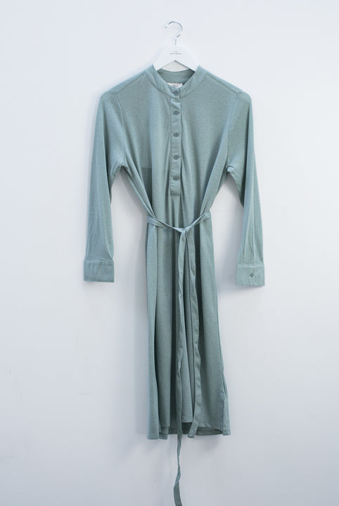 Wallago wool crepe dress