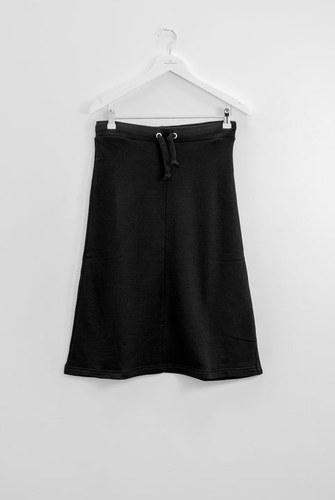 The White Briefs a-lined skirt in 100% organic cotton