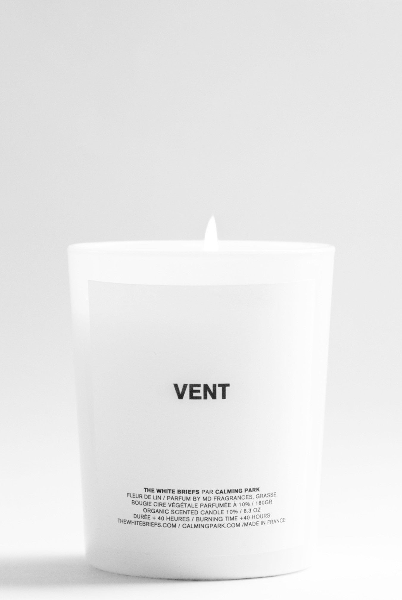 Vent organic candle