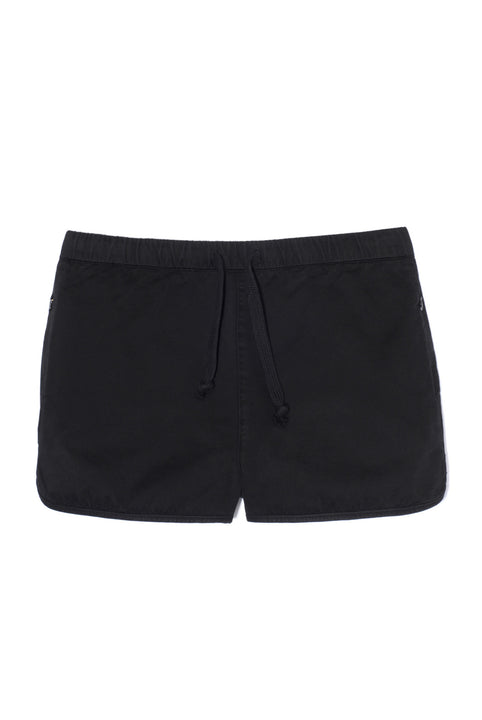 the white briefs black cotton shorts