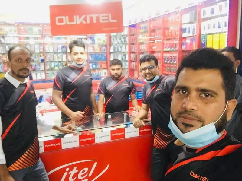 Oukitel's Official Bagladesh Distributor Organizes Product Launch Ceremony on December 3, 2020