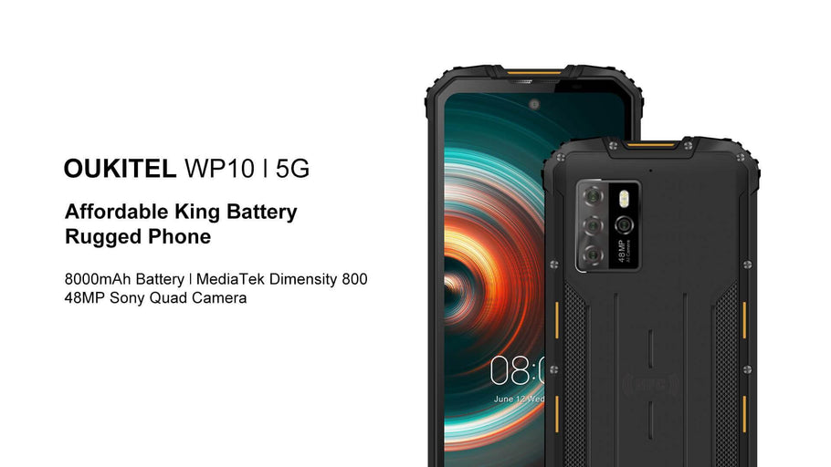 Oukitel Launches King Battery 5G Rugged Phone with Affordable Price
