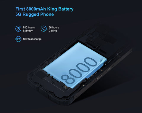 Oukitel WP10 5G comes with the largest battery among 5G rugged phones