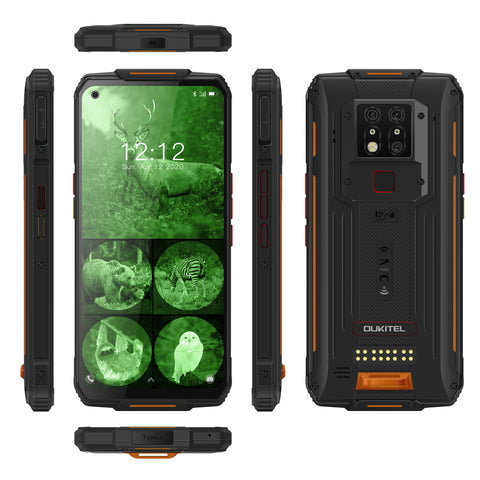 Oukitel WP7 is a modular rugged phone. It packs a 8000mAh battery