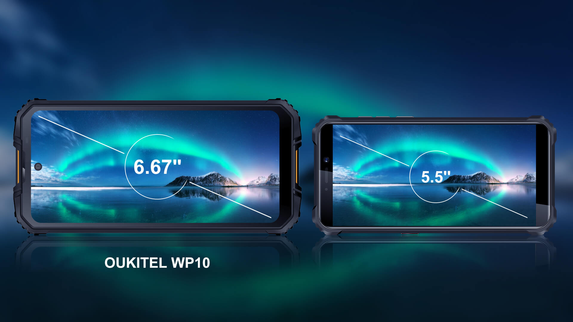 oukitel full screen display