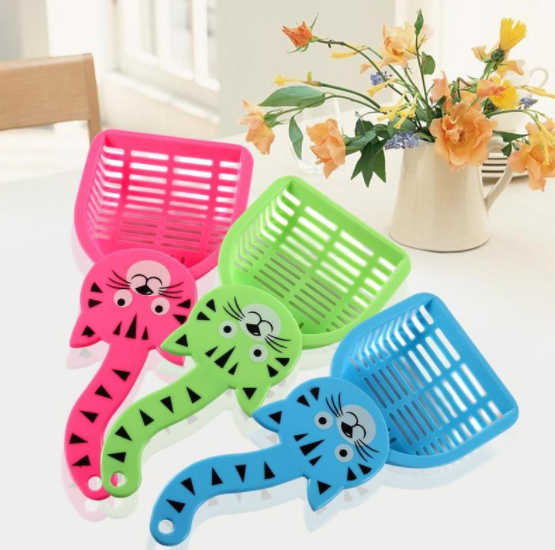 Cat Tail Design Litter Box Scooper