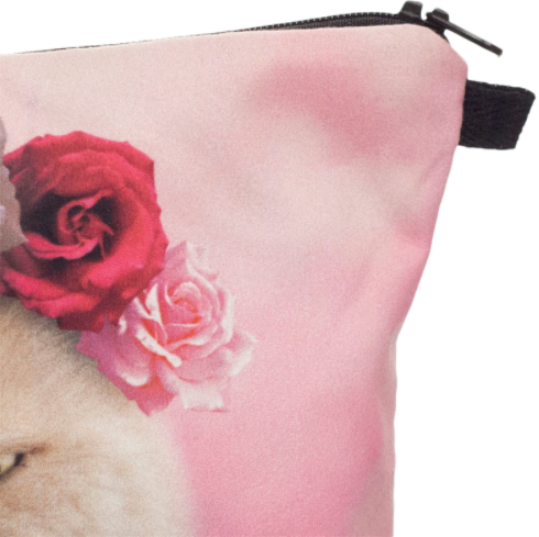 Sassy Cat Cosmetic Bag