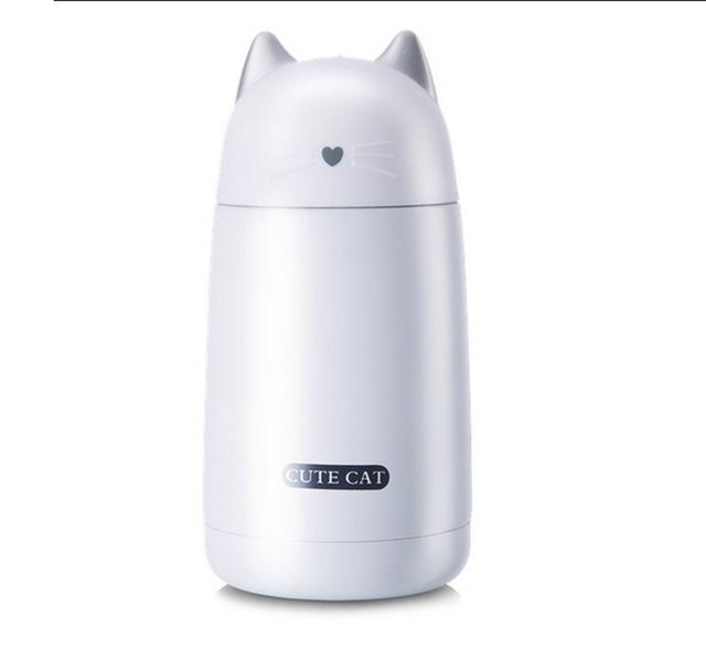 Cat Shaped Thermos 330ml  (4 Colors)