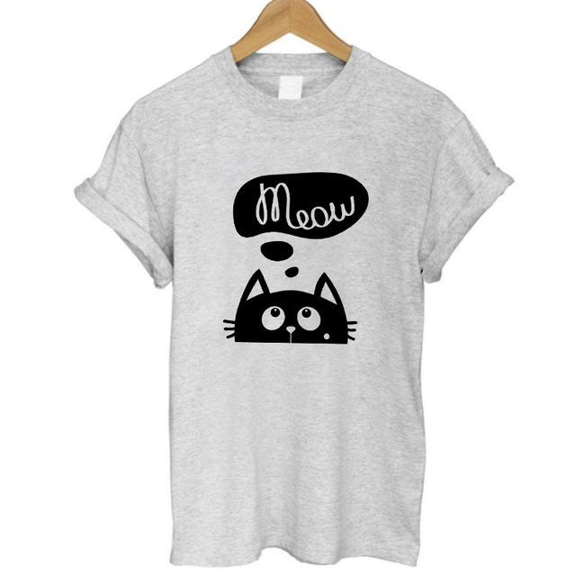 Cute Cat Humor T-Shirts (6 Designs)