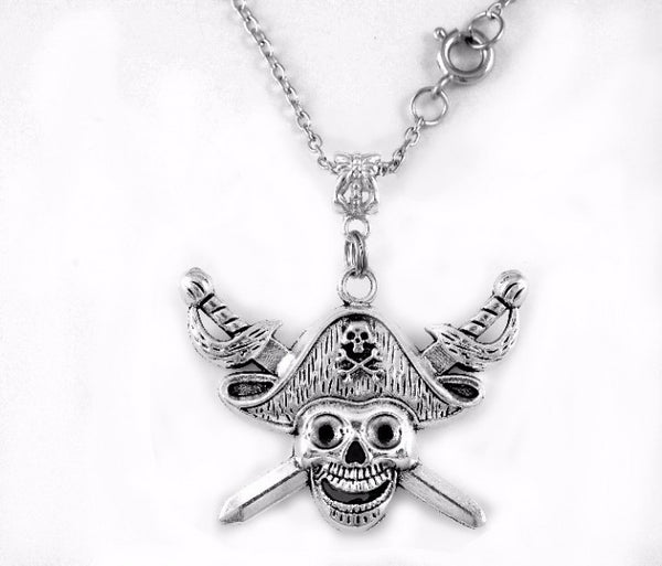 Pirate Charm DC Necklace