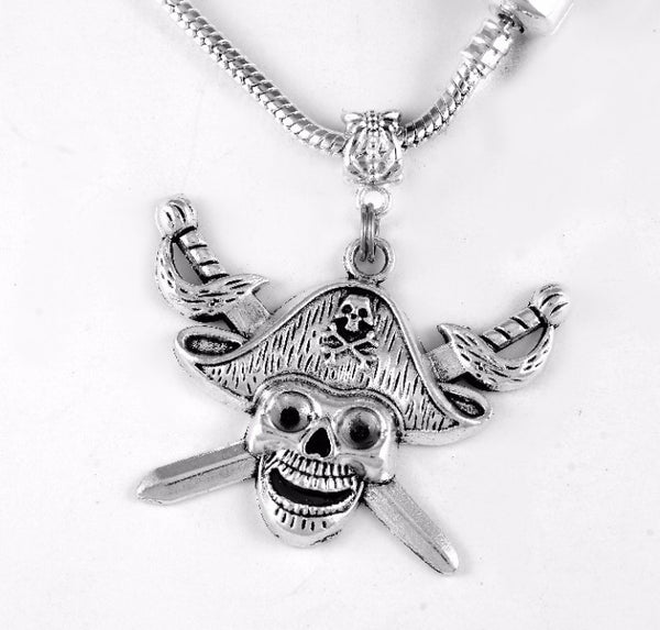 Pirate Charm SC Necklace