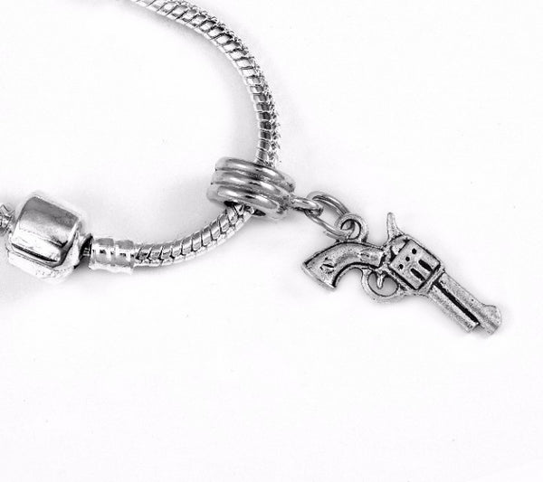 Revolver Charm SC Necklace