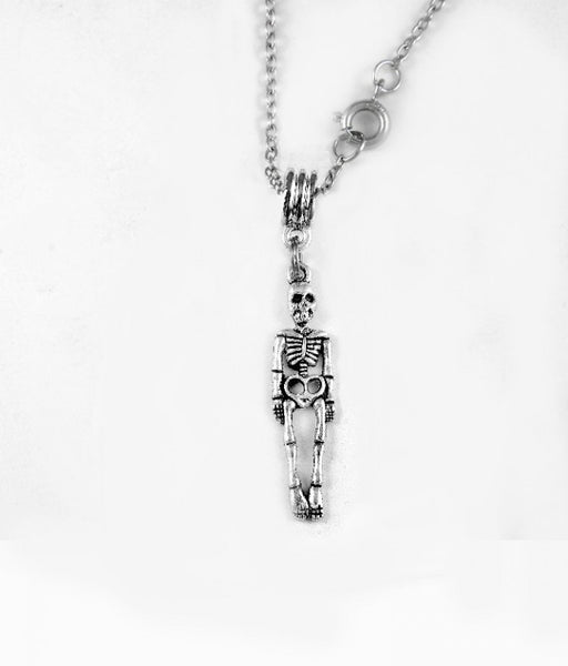 Skeleton Charm DC Necklace