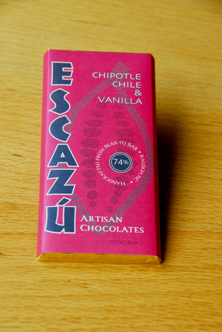 Escazú Chocolate Chipotle Chile & Vanilla Bar