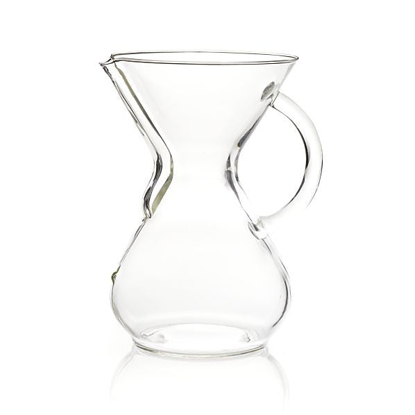Chemex 2 to 6 Cup Coffee Maker with Glass Handle