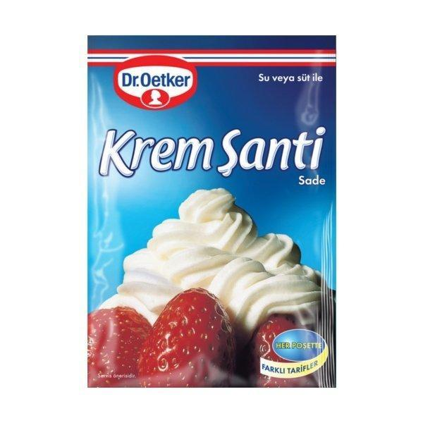 Crème Chantilly Nature - Krem Santi Sade 150gr - TurkishTime