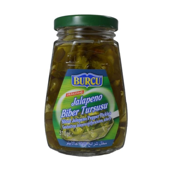 Piments fort Jalapeno 310ml BURCU - TurkishTime
