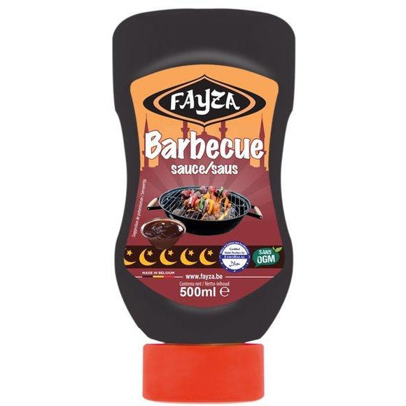 Sauce barbecue Halal 500ml Fayza - TurkishTime