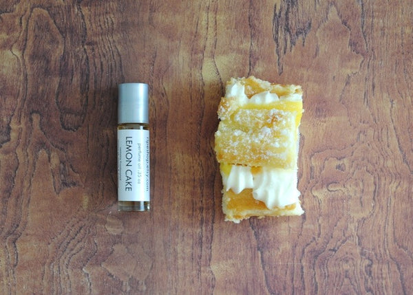 Lemon Cake Perfume Oil