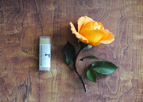 Mandarin Rose Lip Balm