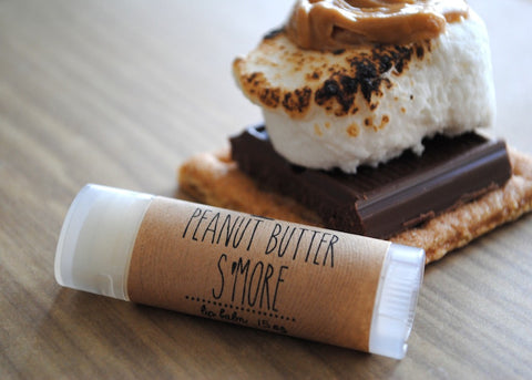 Peanut Butter S'more Lip Balm