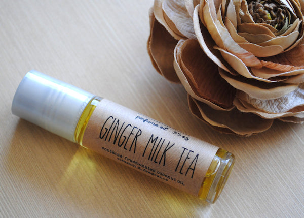 Ginger Milk Tea Perfume Oil