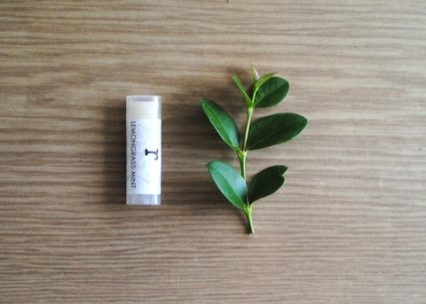 Lemongrass Mint Lip Balm