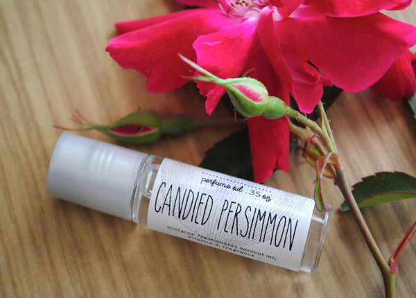 Candied Persimmon Perfume Oil