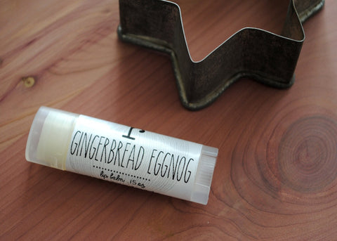 Gingerbread Egg Nog Lip Balm