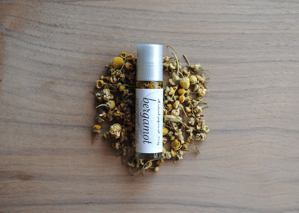 All Natural Bergamot Perfume Oil