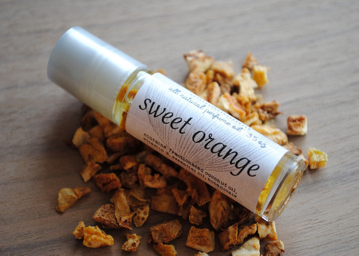 All Natural Sweet Orange Perfume Oil
