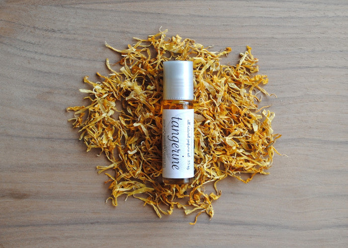 All Natural Tangerine Perfume Oil