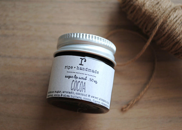 Cocoa Sugar Lip Scrub