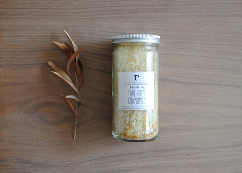 Earl Grey Chamomile Honey Sea Salt Soak