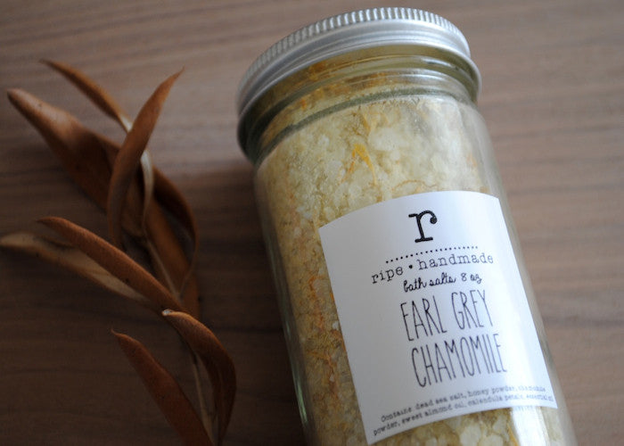 Earl Grey Chamomile Bath Salts