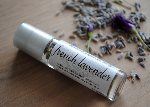 All Natural French Lavender Perfume Oil