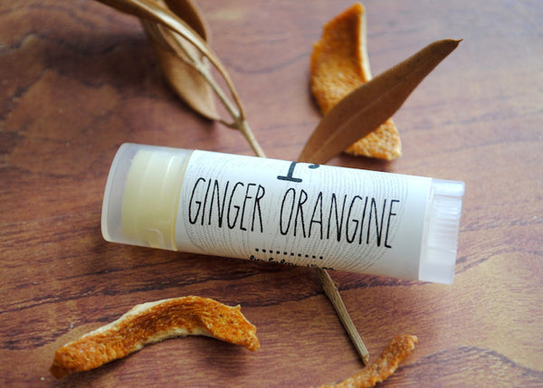 Ginger Orangine Lip Balm