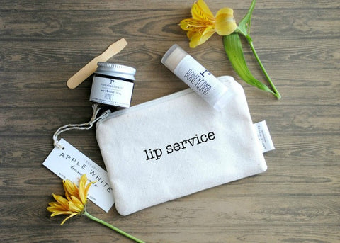Lip Service Lip Balm and Lip Scrub Set