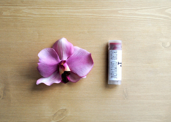 Orchid Champagne Lip Balm